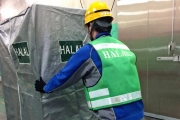 Nippon Express seizes chance in halal food transport